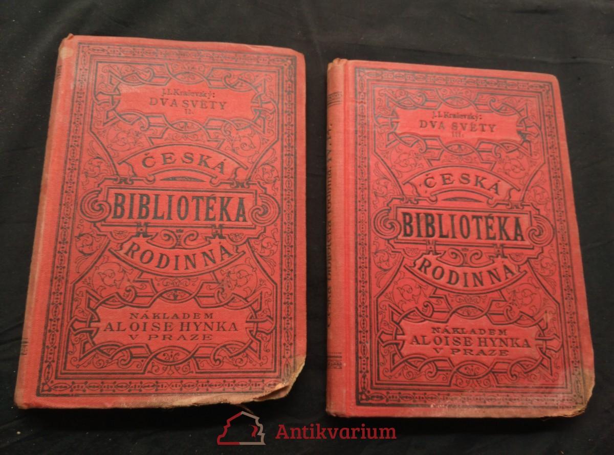 antikvární kniha Dva světy II, III, neuveden
