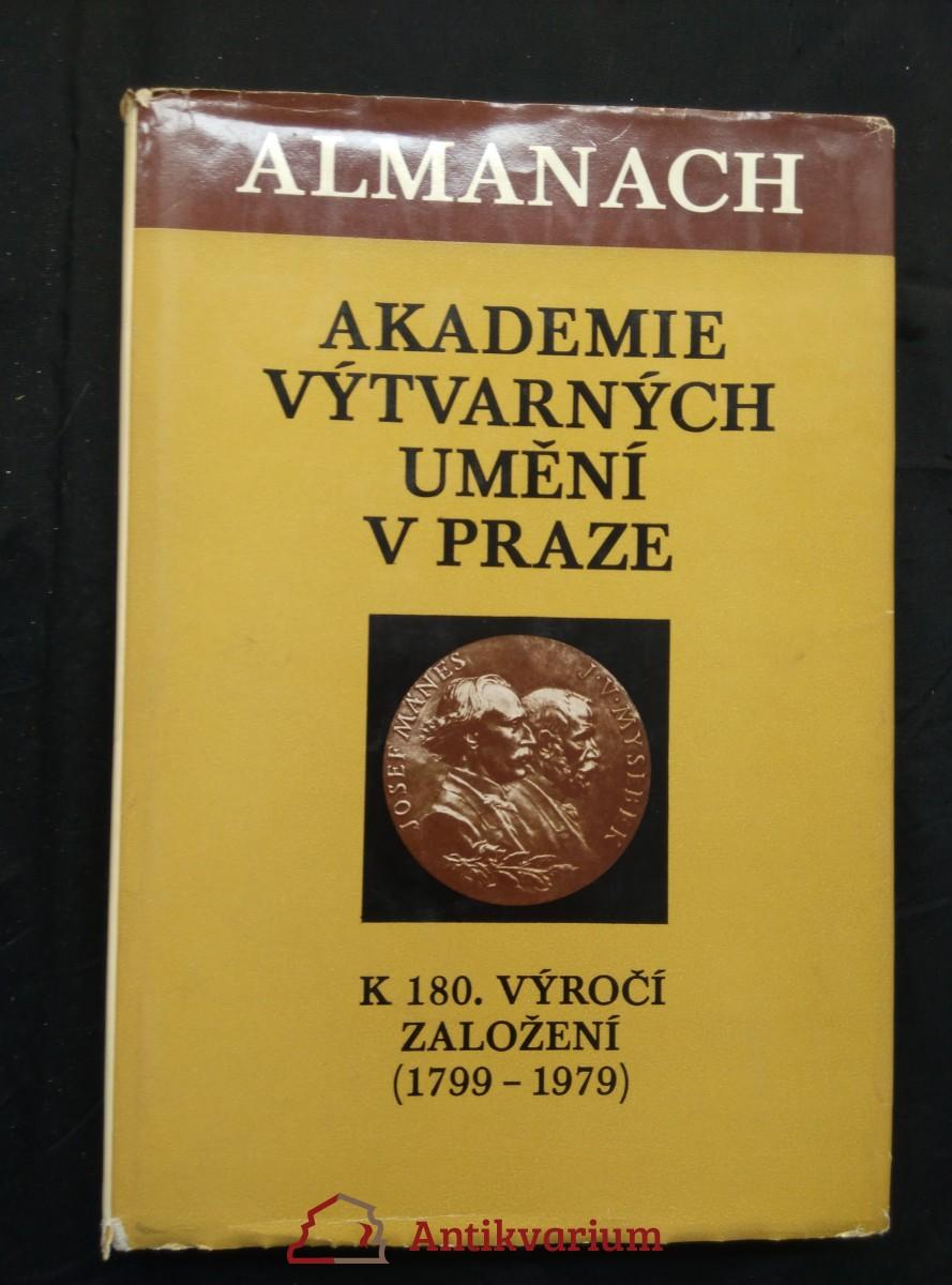 Almanach akademie výtvarných umění v Praze (Ocpl, 132 s.)