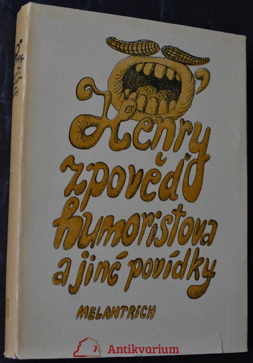 Zpověď humoristova a jiné povídky