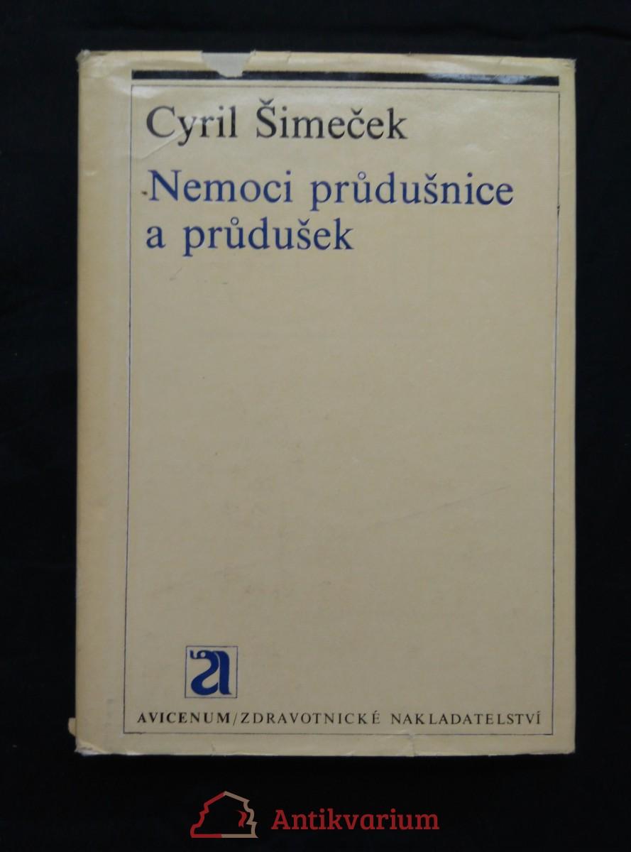 Nemoci průdušnice a průdušek (Ocpl, 320 s., 109 vyobr v textu, 12 v příl.)