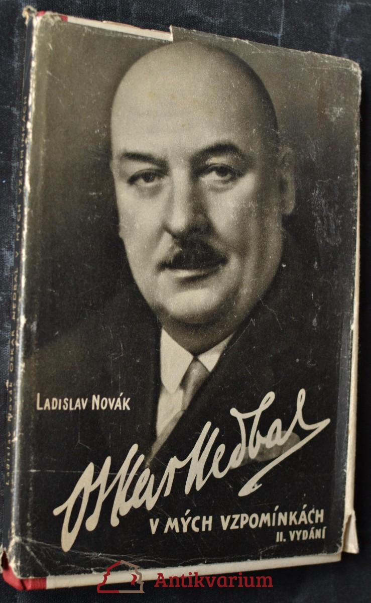 Oskar Nedbal v mých vzpomínkách