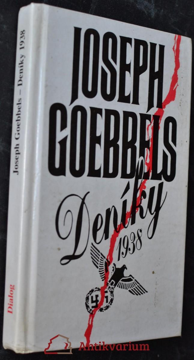 Joseph Goebbels - deníky 1938