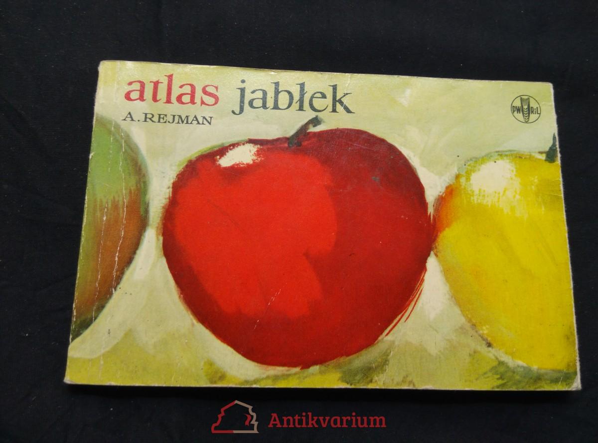 antikvární kniha Atlas jablek (Obr, 96 s., bar il., polsky), 1967