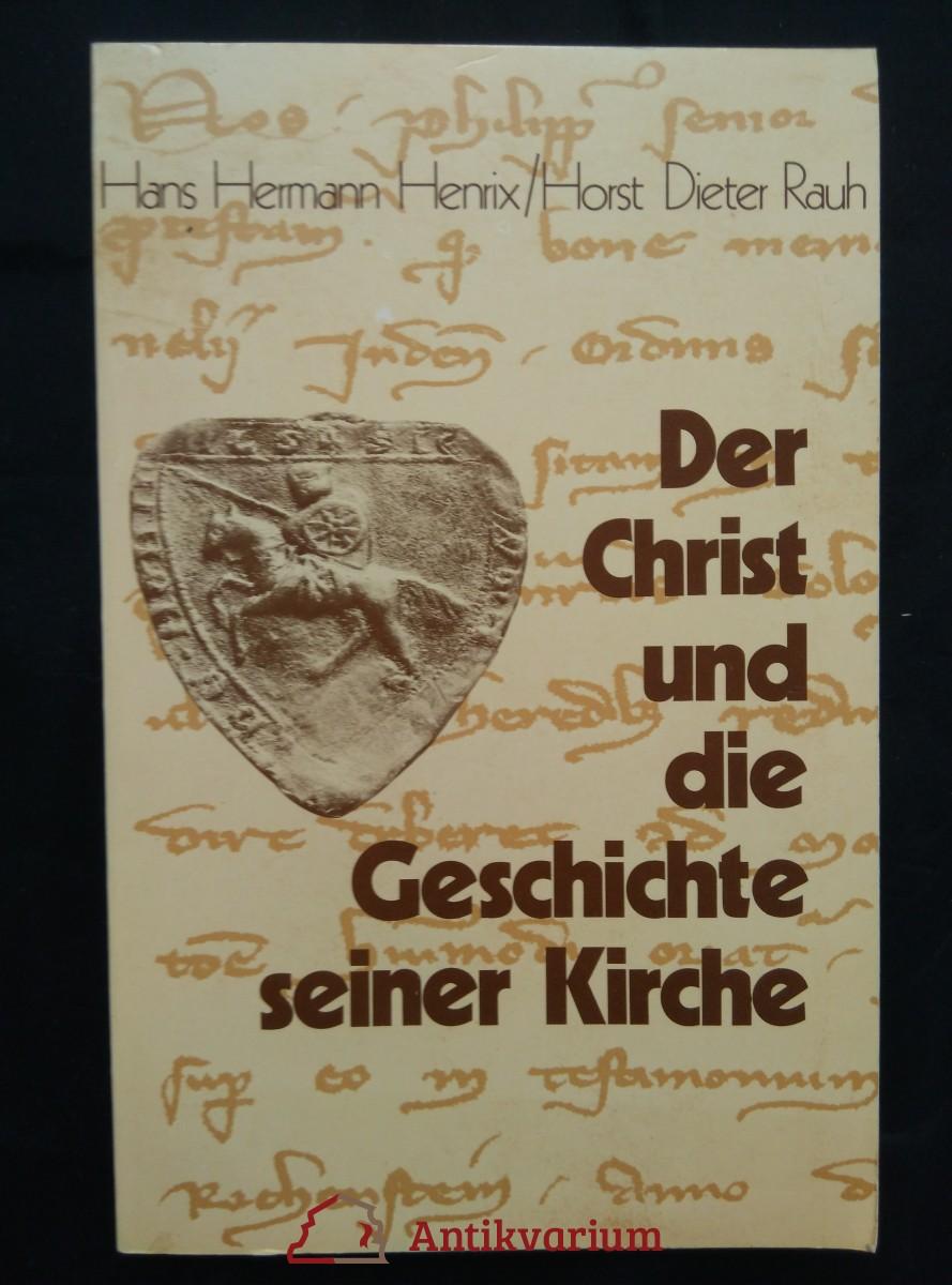 antikvární kniha Der Christ und die Geschichte seiner Kirche (Obr, 348 s., dedikace autora), 1978