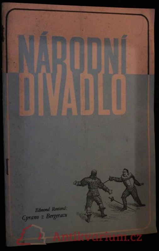 antikvární kniha Národní divadlo - List divadelní práce, 1948