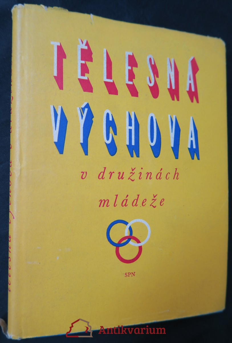 antikvární kniha Tělesná výchova v družinách mládeže, 1958