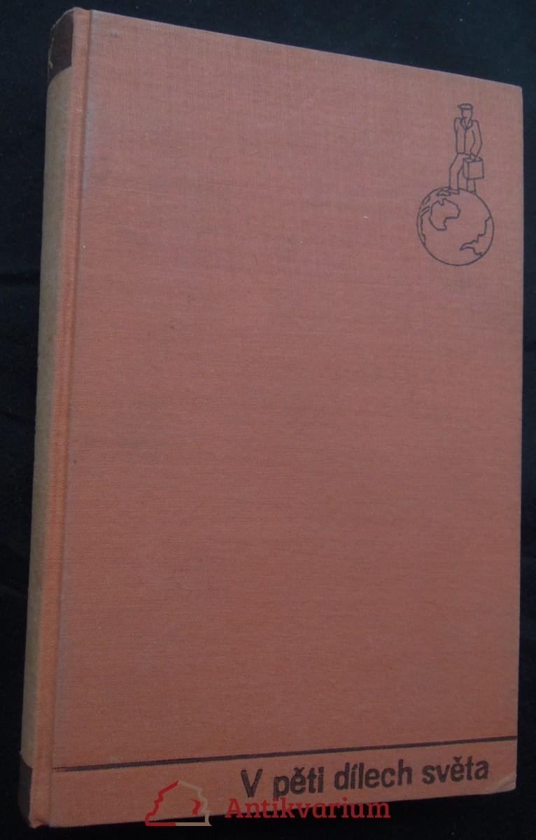 antikvární kniha V pěti dílech světa, 1936