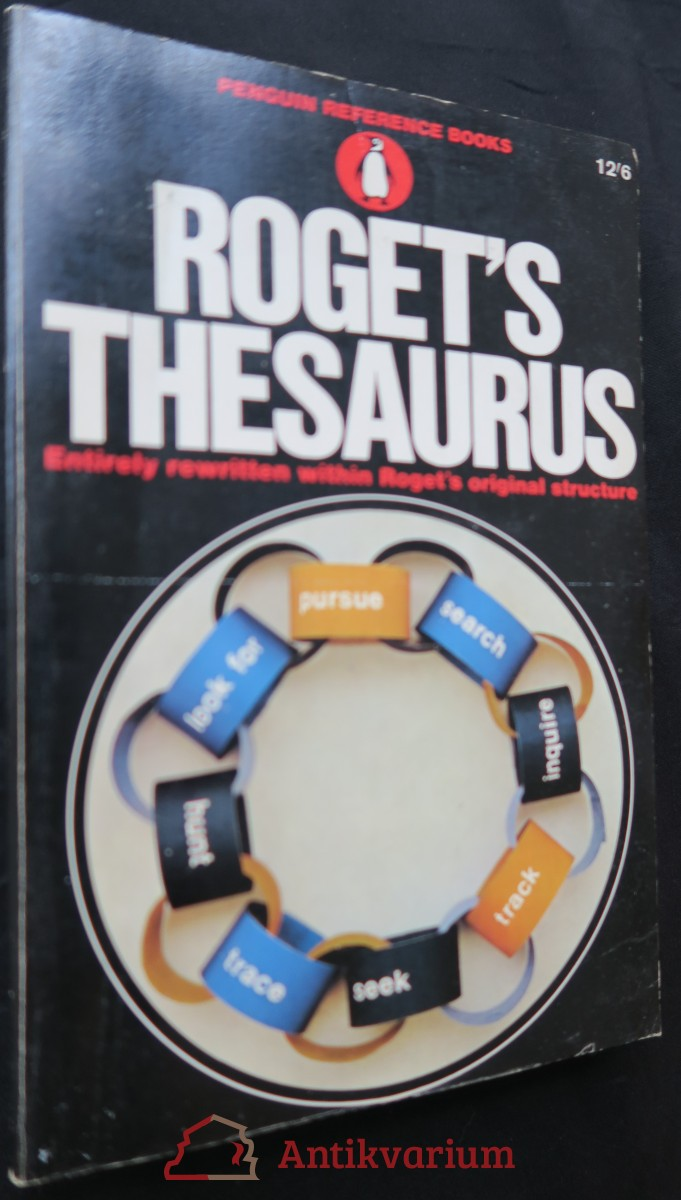 antikvární kniha Roget´s Thesaurus, 1966