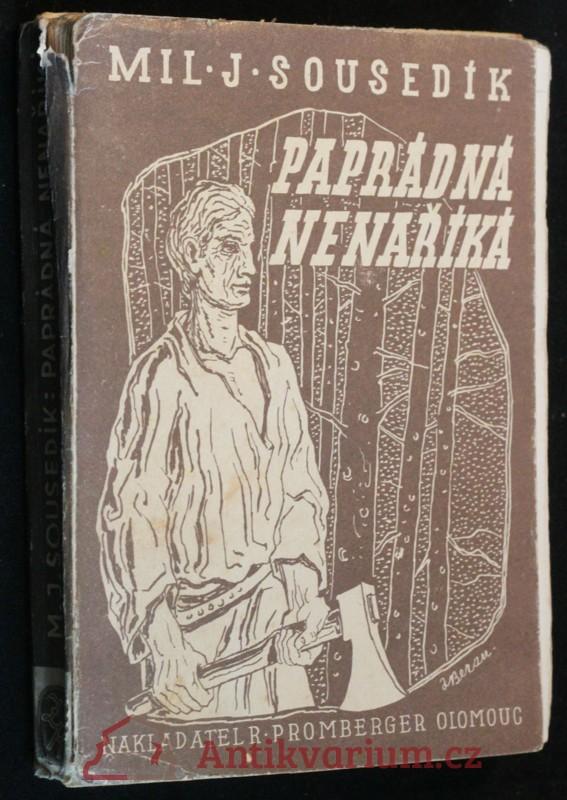 antikvární kniha Paprádná nenaříká : román, 1942