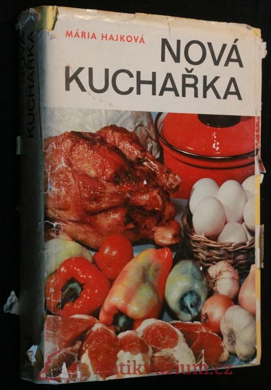 antikvární kniha Nová kuchařka, 1970