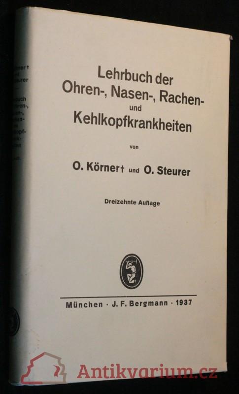 antikvární kniha Lehrbuch der Ohren-, Nasen-, Rachen- und Kehlkopfkrankheiten, 1937