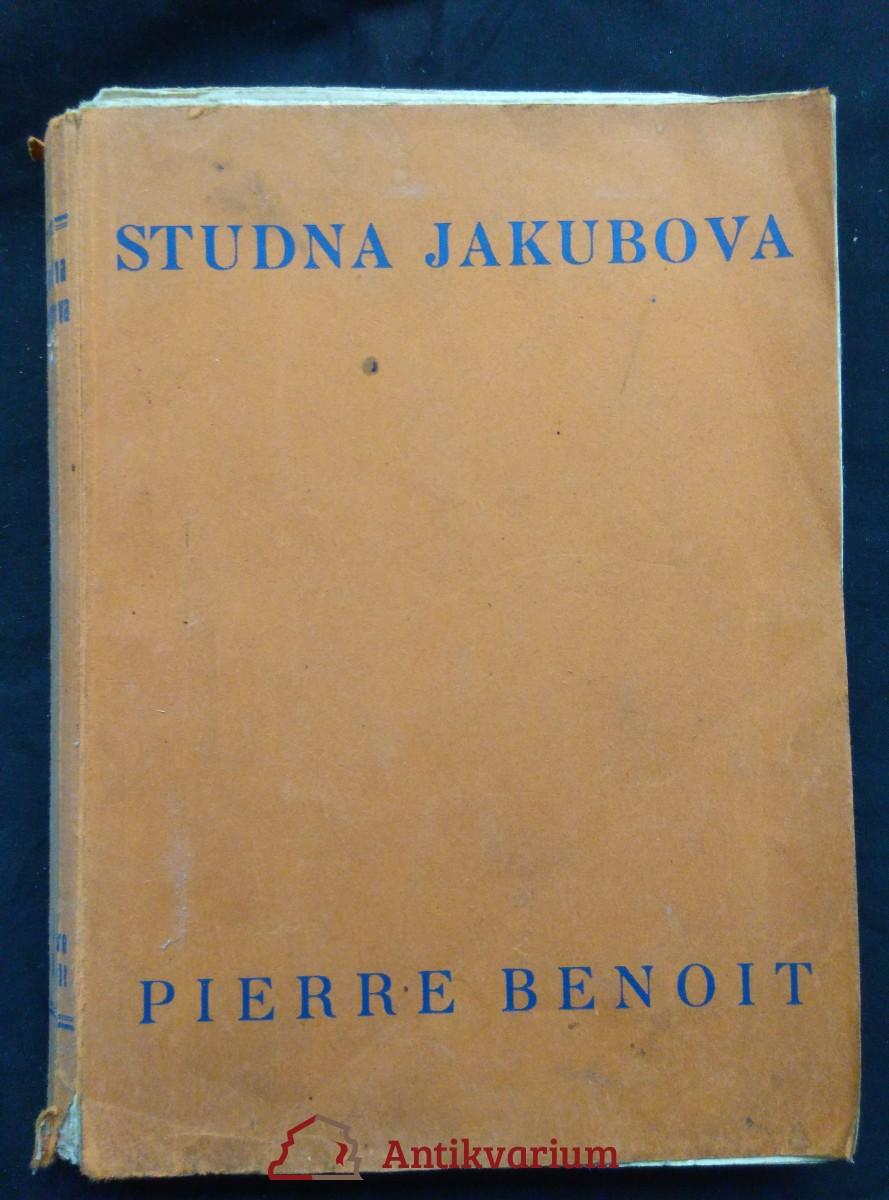 antikvární kniha Studna Jakubova (Obr.), 1926