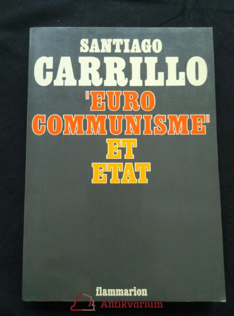 antikvární kniha Eurocommunisme et l´etat, 1977