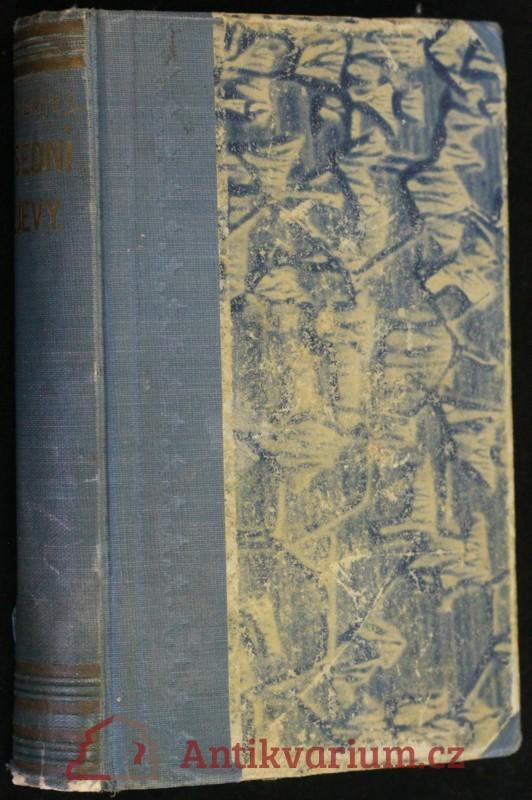 antikvární kniha Všední zjevy : obraz ze života malých lidí, 1896