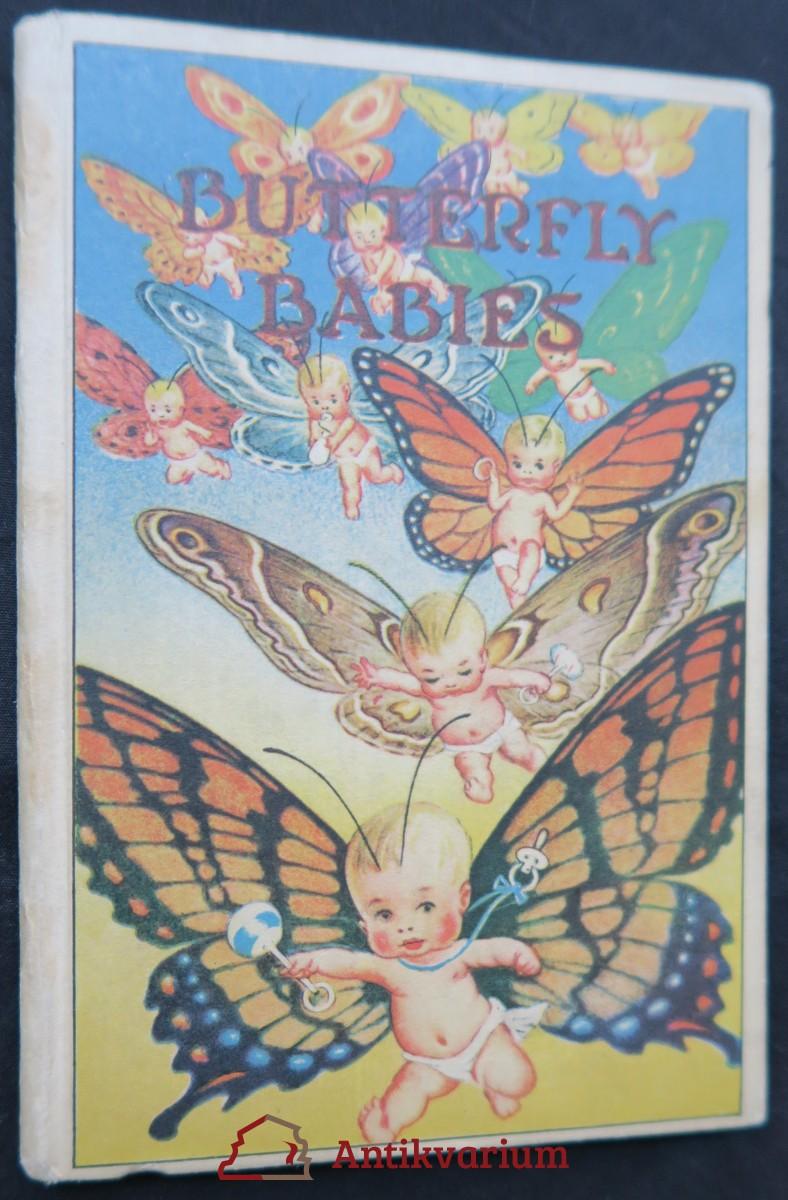 antikvární kniha Butterfly babies, neuveden