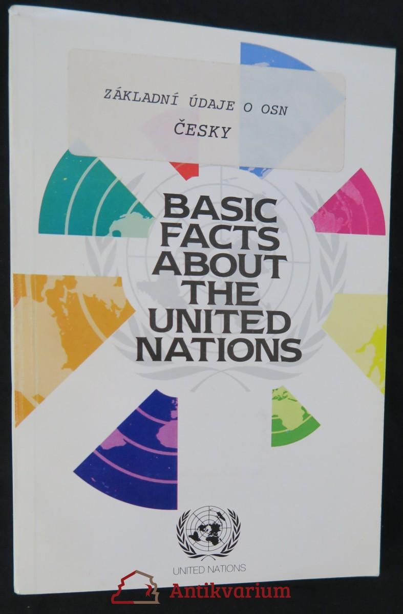 antikvární kniha Základní údaje o Organizaci spojených národů, 1992