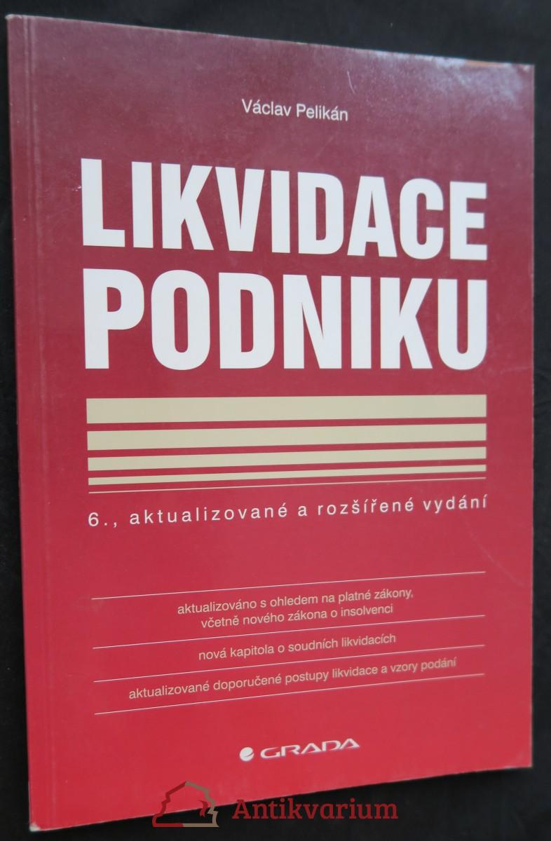 antikvární kniha Likvidace podniku, 2007