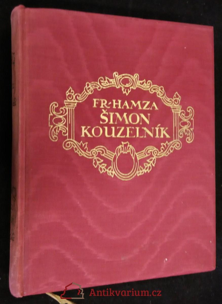 antikvární kniha Šimon kouzelník, 1929