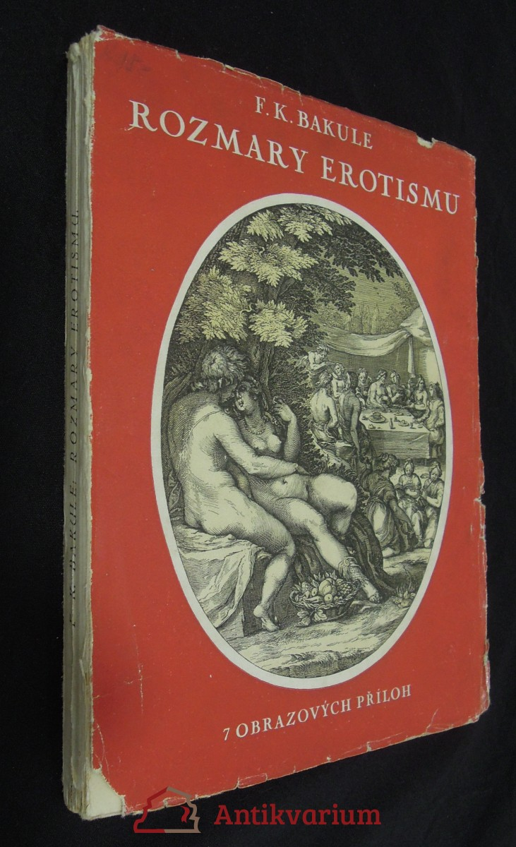 antikvární kniha Rozmary erotismu, neuveden