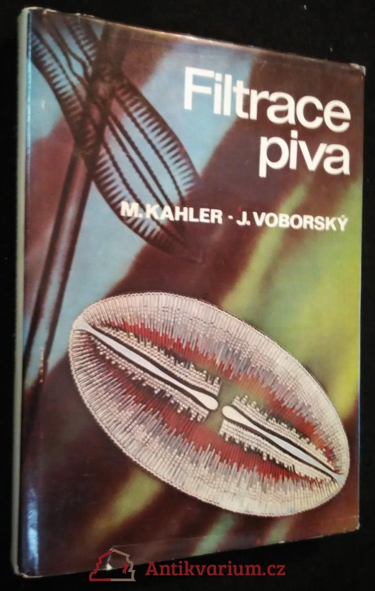 antikvární kniha Filtrace piva, 1981