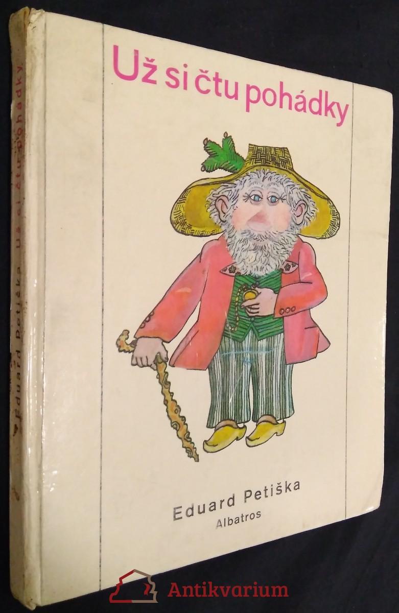 antikvární kniha Už si čtu pohádky, 1974