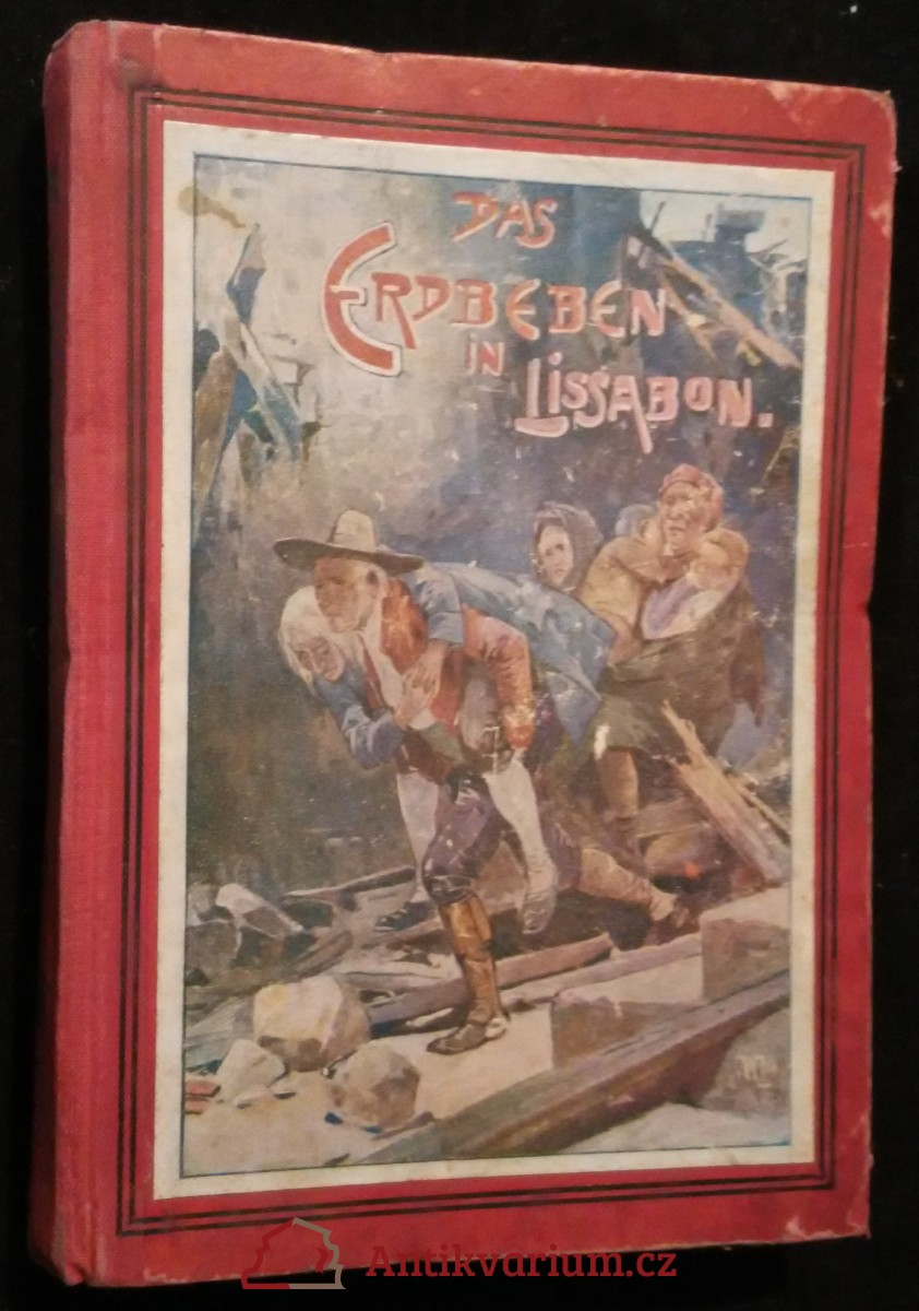 antikvární kniha Das Erdbeben in Lissabon,