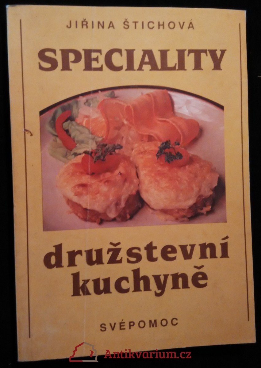 antikvární kniha Speciality družstevní kuchyně, 1990