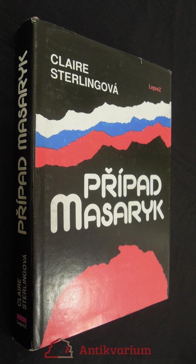 antikvární kniha Případ Masaryk, 1991