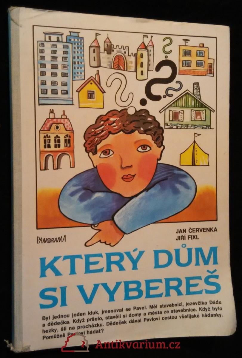 antikvární kniha Který dům si vybereš, 1987