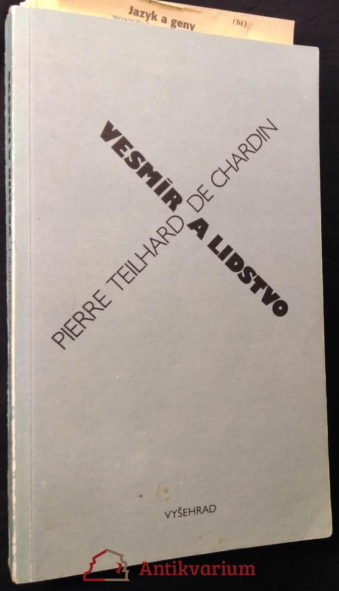 antikvární kniha Vesmír a lidstvo, 1990