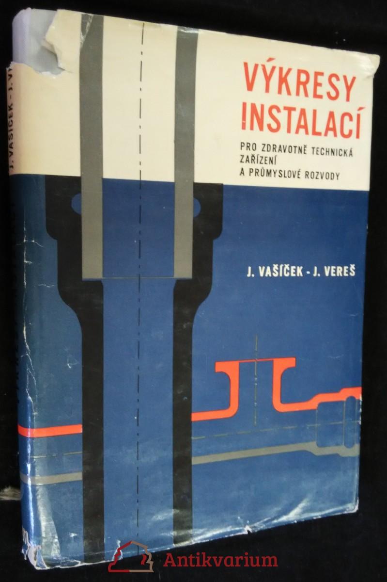 antikvární kniha Výkresy instalací pro zdravotně technická zařízení a průmyslové rozvody : Určeno [též] posl. odb. a vys. škol, 1965