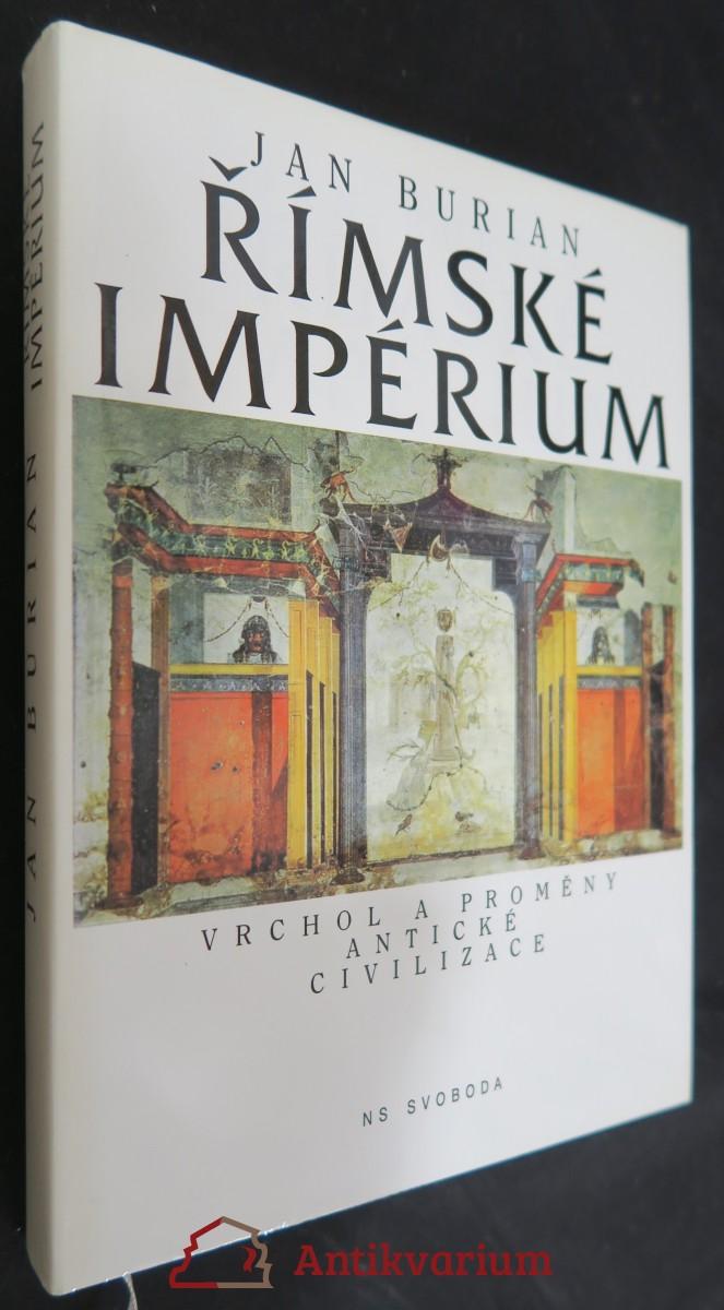 antikvární kniha Římské impérium : vrchol a proměny antické civilizace, 1997