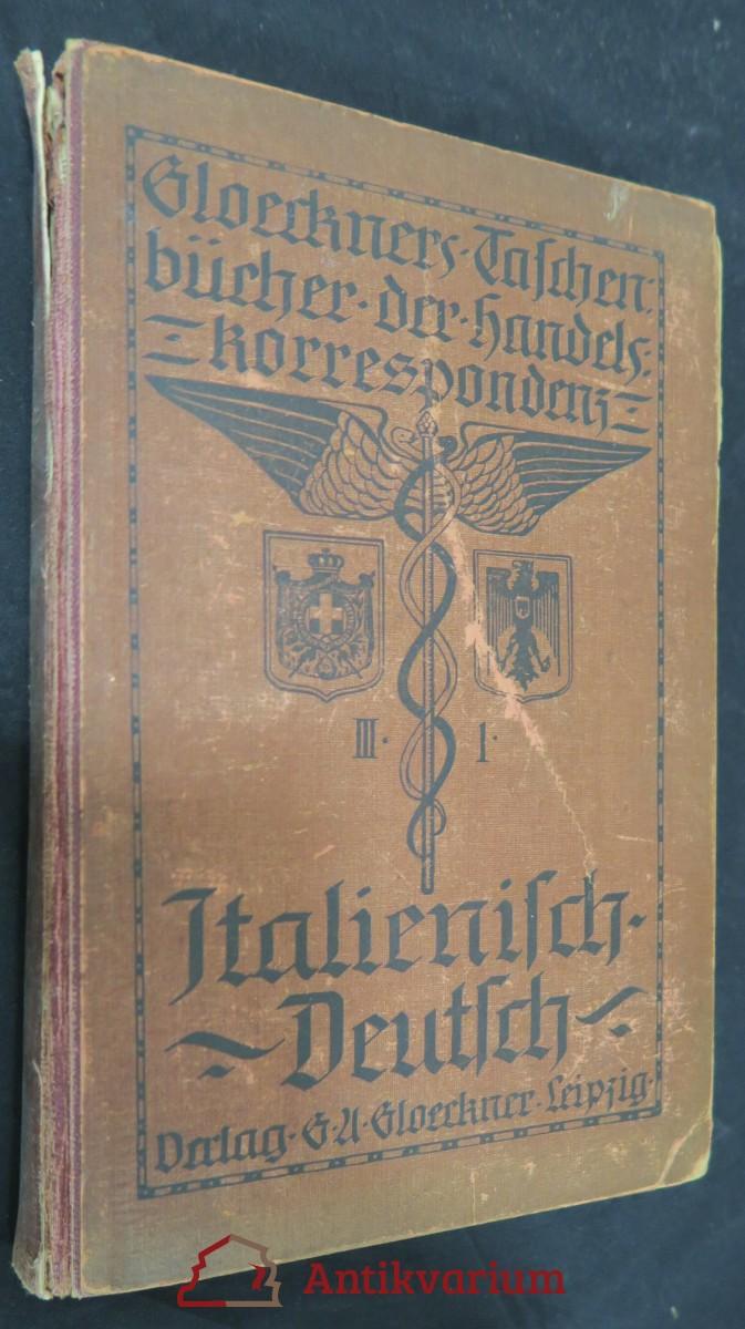 antikvární kniha Manuale di corrispondenza commerciale italiana-tedesca, 1921
