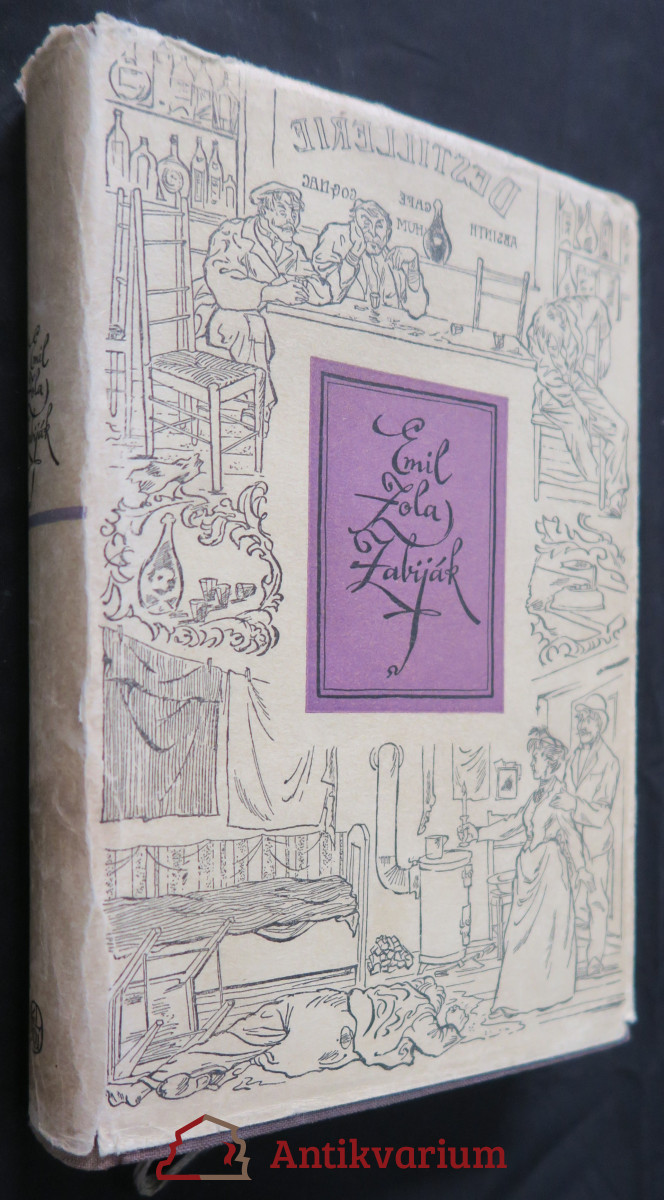 antikvární kniha Zabiják, 1956