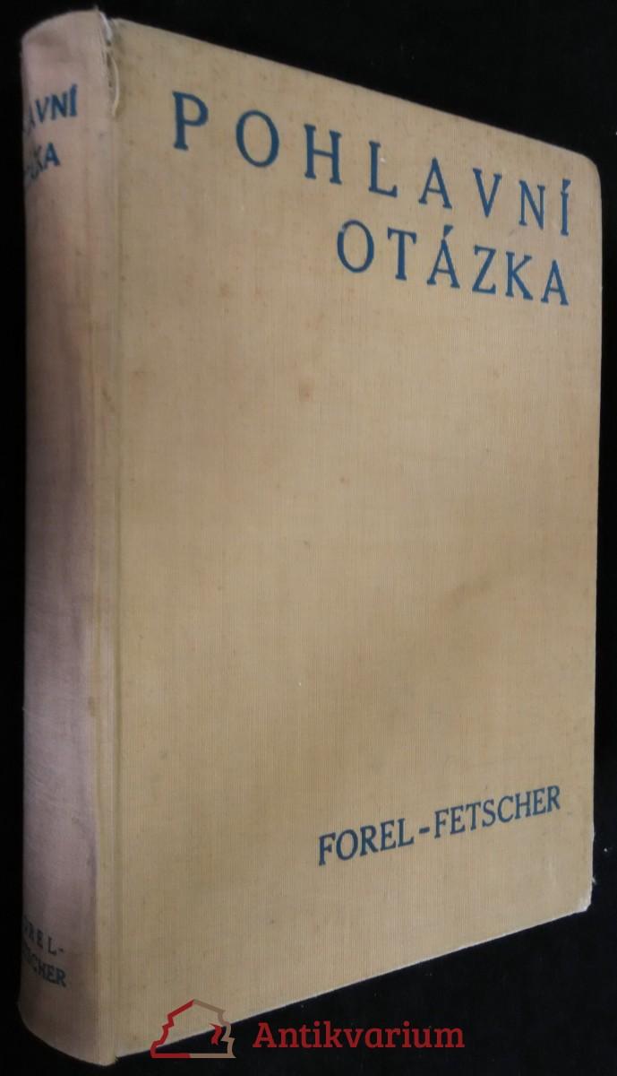 antikvární kniha Pohlavní otázka, 1933