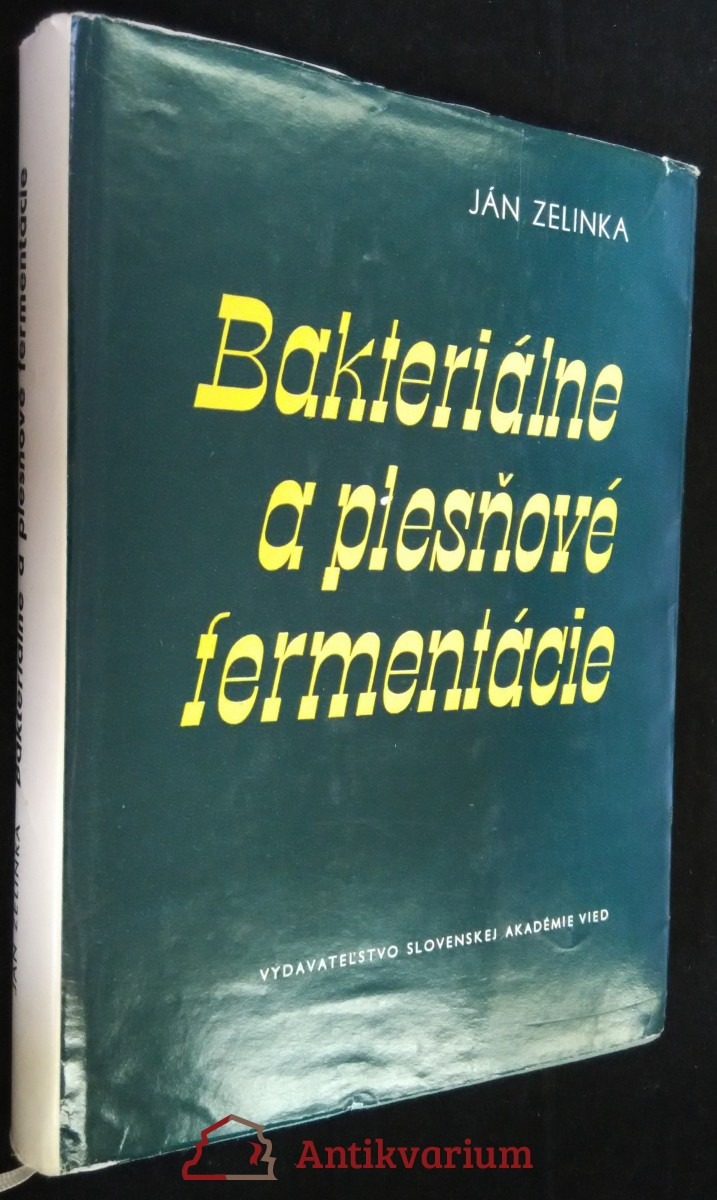 antikvární kniha Bakteriálne a plesňové fermentácie, 1960