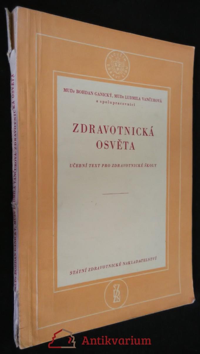 antikvární kniha Zdravotnická osvěta : učební text pro zdravotnické školy, 1957