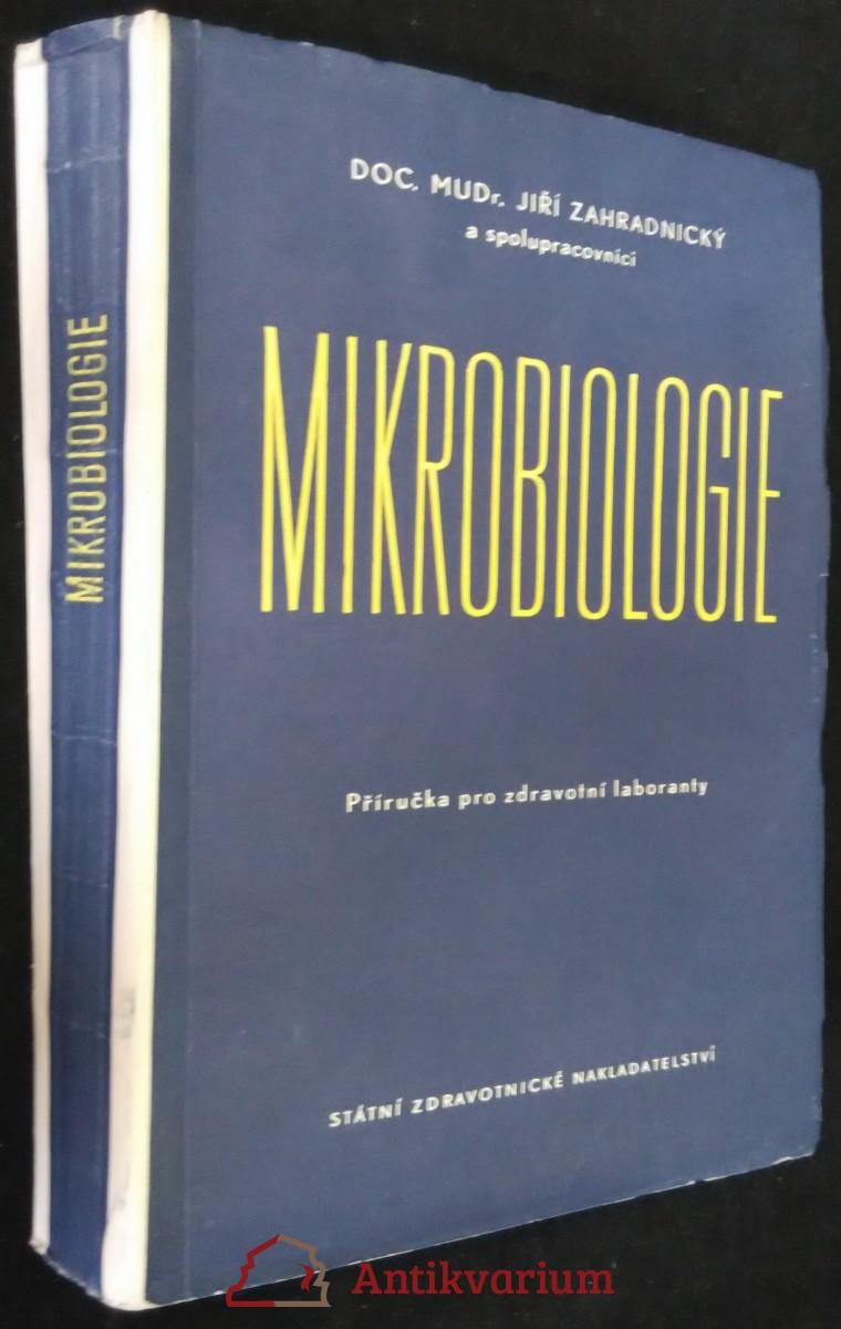 antikvární kniha Mikrobiologie : příručka pro zdravotní laboranty, 1961