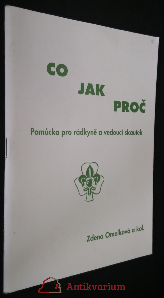 antikvární kniha Co jak proč, pomůcka pro rádkyně a vedoucí skautek, 1994