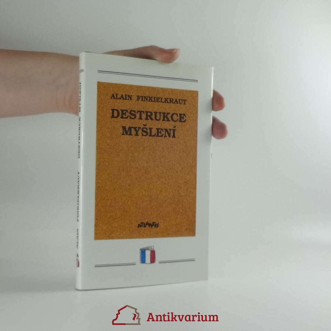 antikvární kniha Destrukce myšlení : esej, 1993