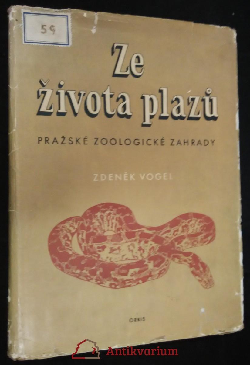 antikvární kniha Ze života plazů pražské zoologické zahrady, 1953