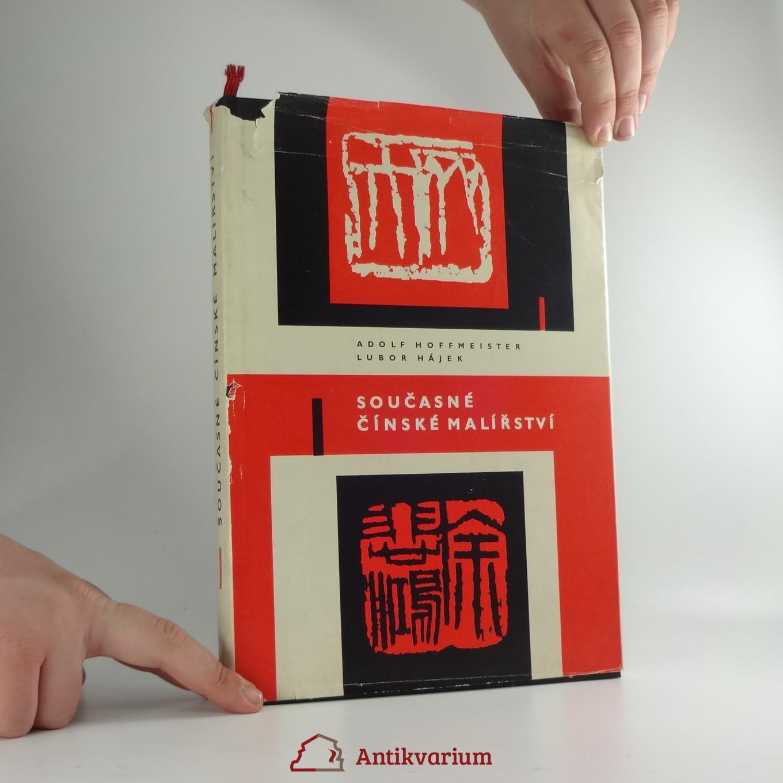Soucasne Cinske Malirstvi Zivotopisy Ume Antikvariat Praha