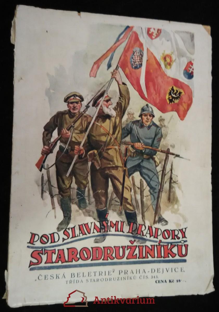 antikvární kniha Pod slavnými prapory starodružiníků : [historické vzpomínky]. Kn. 1, 1927