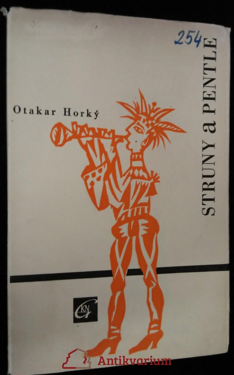 antikvární kniha Struny a pentle : sbírka poezie, 1958