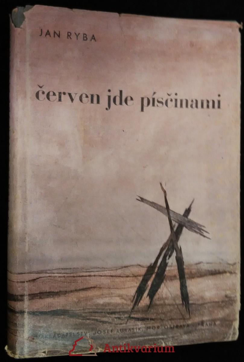 antikvární kniha Červen jde písčinami, 1946