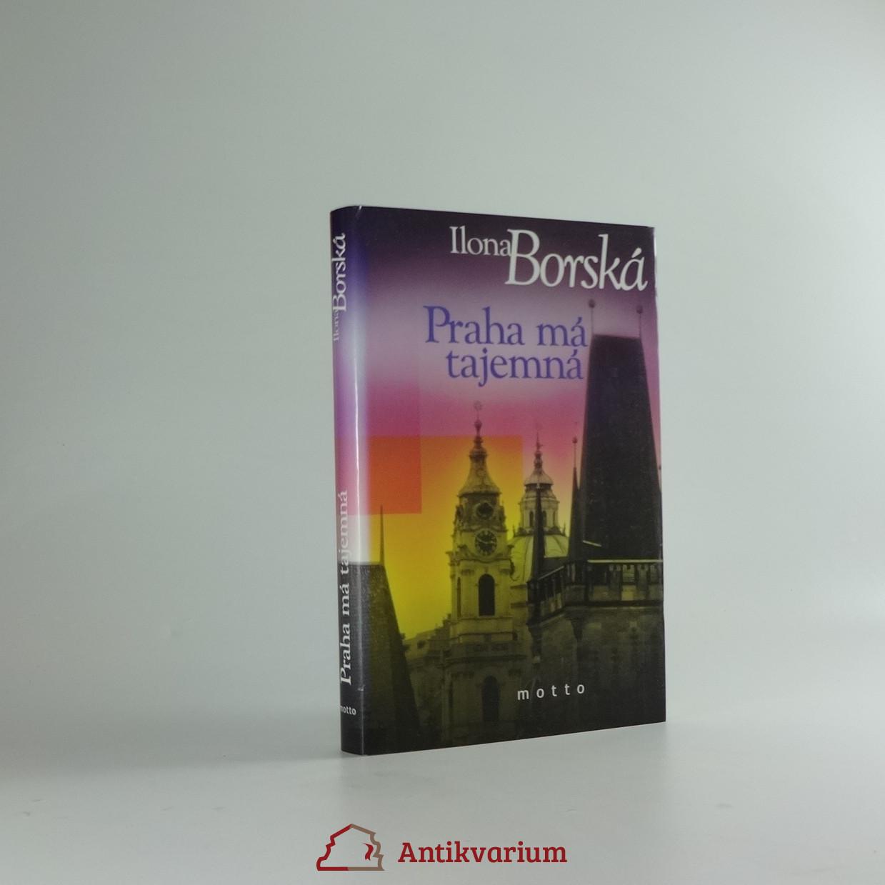 antikvární kniha Praha má tajemná, 2005
