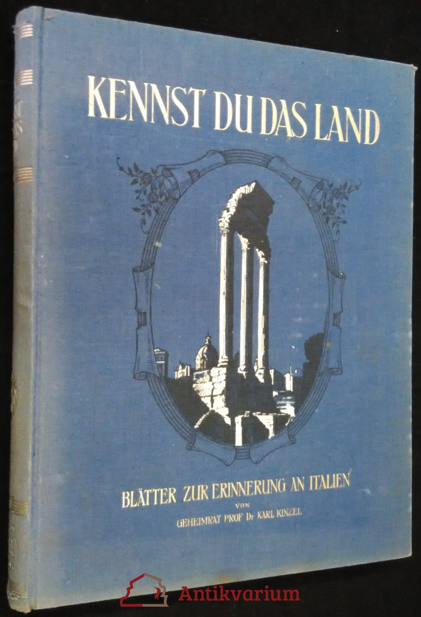 antikvární kniha Kennst du das land , neuveden