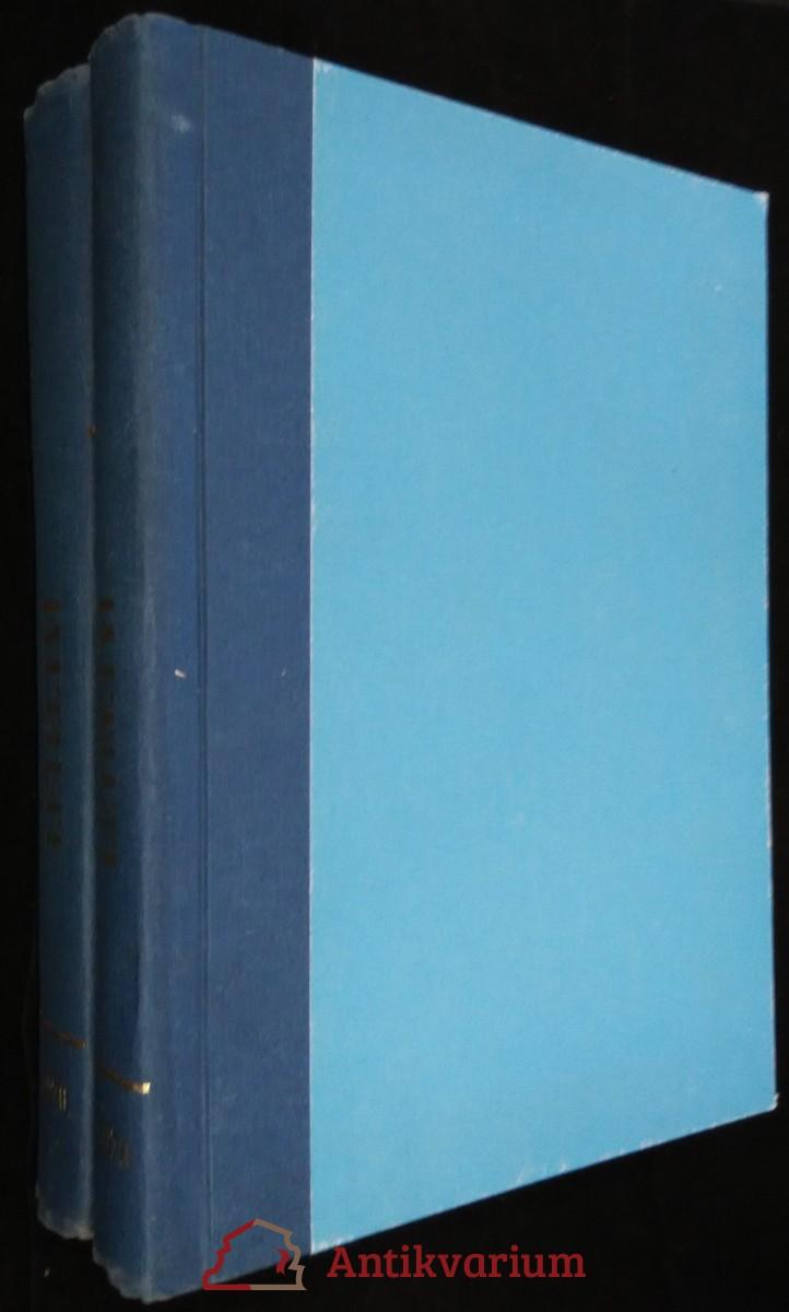 antikvární kniha Letectví a kosmonautika, 2 svazky, 46. ročník, 1.-26. číslo, 1970