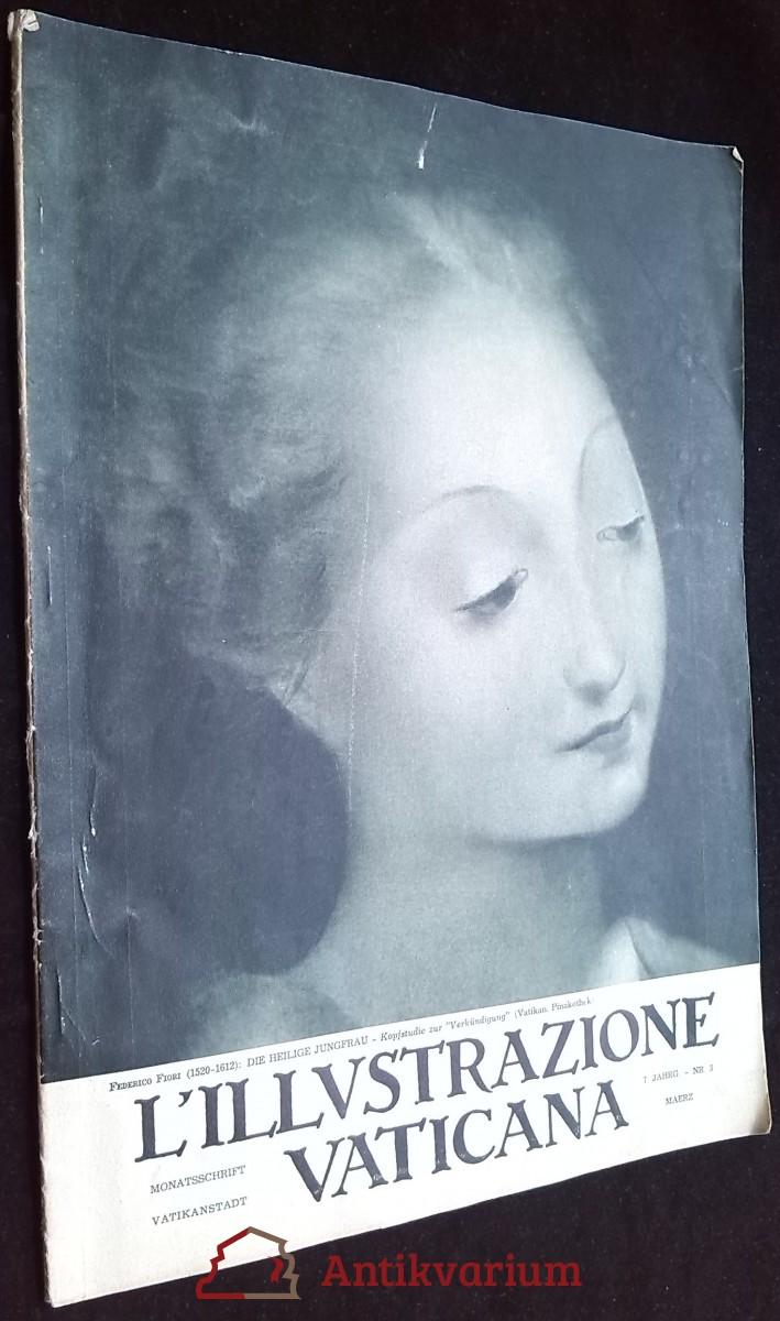 antikvární kniha L'illustrazione Vaticana 1936, roč.7, č.3, 1936