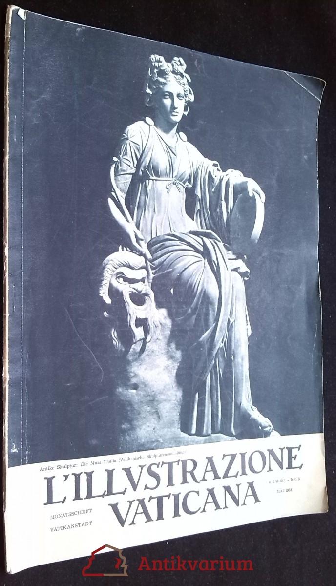 antikvární kniha L'illustrazione Vaticana 1935, roč.6, č.5, 1935